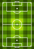 Soccer Field Background Stock Images