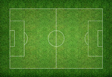 Soccer field background. Soccer field pattern and texture background Stock Photography