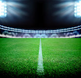 Soccer field Stock Photo