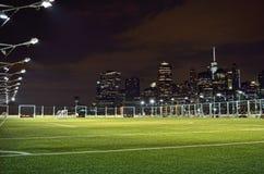 Soccer field. Stock Image