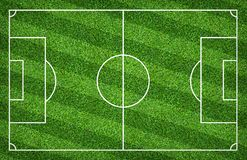 Soccer field or football field for background. With green lawn pattern. Soccer field or football field for background. With green lawn court pattern stock images