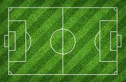 Soccer field or football field for background. With green lawn pattern. Soccer field or football field for background. With green lawn court pattern royalty free stock images