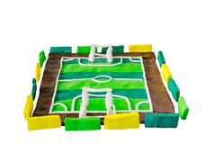 Soccer field or football field Royalty Free Stock Photo