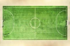 Soccer field, football field Royalty Free Stock Photos