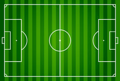 Soccer field or football field Stock Photography