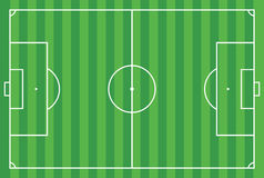 Soccer field or football field Royalty Free Stock Photography
