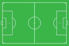Soccer field or football field Royalty Free Stock Image