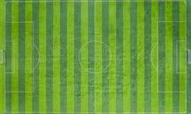 Soccer field, Football field, Green Football Stadium field, Aerial view stock images