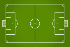 Soccer field. Football. Vector Royalty Free Stock Photography