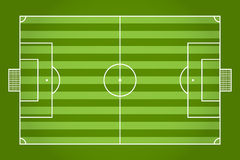 Soccer field. Football. Vector Royalty Free Stock Images