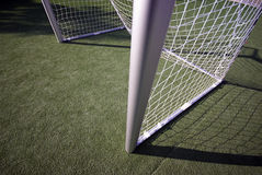 Soccer Field and Goal Stock Photography