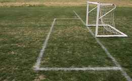 Soccer Field and Goal for kids Royalty Free Stock Photography