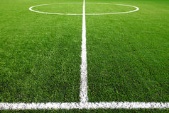 Soccer field grass. For your design Stock Photos