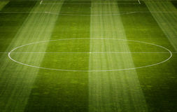 Soccer Field Grass Stock Photography