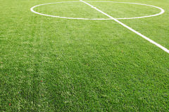 Soccer field grass Royalty Free Stock Image