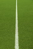 Soccer field grass on the green. Soccer field grass line on the green Royalty Free Stock Images