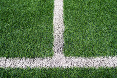 Soccer field grass Royalty Free Stock Photo