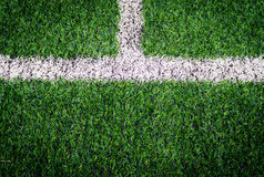 Soccer field grass stock photo