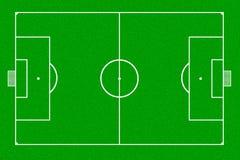 Soccer field. Green grass texture Stock Photos