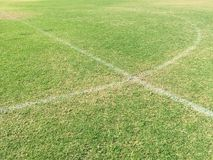 Soccer field stock images
