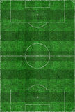 Soccer Field Layout Royalty Free Stock Image