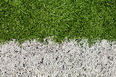 Soccer Field Line Detail Royalty Free Stock Images