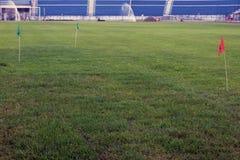 Soccer Field Maintenance Royalty Free Stock Photography