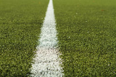 Soccer Field Marking Stock Images