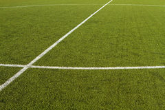 Soccer Field Marking Royalty Free Stock Image