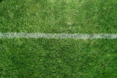 Soccer field markings grungy grunge Royalty Free Stock Photo