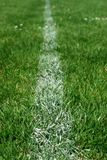 Soccer field markings grungy grunge Stock Photography