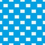 Soccer field pattern seamless blue Stock Image
