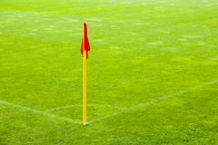 The soccer field. Stock Image