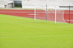 Soccer field. Stock Photography