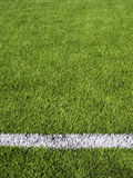 Soccer Field's Line Horizontal Royalty Free Stock Photo