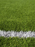 Soccer Field's Lines Royalty Free Stock Photography