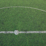 Soccer field of sport game Royalty Free Stock Photography