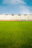 Soccer field and stadium Royalty Free Stock Photos