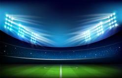 Soccer field with stadium 001