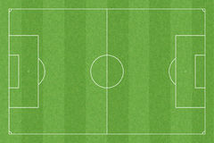 Soccer field with standard measures Royalty Free Stock Images