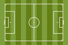Soccer field vector illustration. Football game. Soccer field vector illustration. Football game Stock Image
