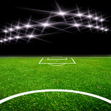 Soccer Field With Light Royalty Free Stock Photography
