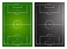 Soccer Fields Royalty Free Stock Photos