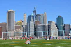 Pier 5 Brooklyn Bridge Park Royalty Free Stock Image