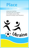 Soccer flyer Royalty Free Stock Photo