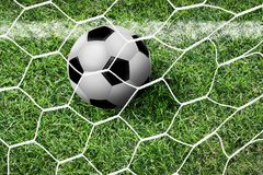 Soccer football Royalty Free Stock Photography