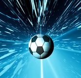 Soccer football Stock Photo