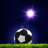 Soccer and football. Royalty Free Stock Image