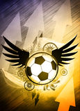 Soccer or football background Royalty Free Stock Images