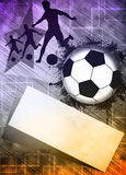 Soccer or football background Royalty Free Stock Photography